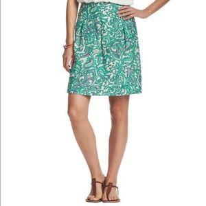 Ann Taylor LOFT Paisley Print Skirt. NWT. SZ 4.